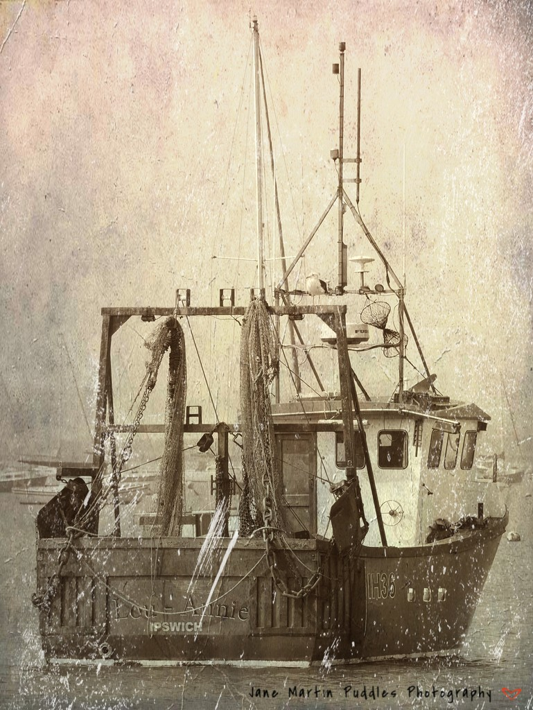 Just a fishing boat edited to death! by janemartin