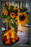 21st Jun 2020 - Sunflowers and fruit