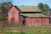 21st Jun 2020 - The dilapidated red barn...