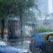 And how to get off the streetcar when there is a downpour. by haskar