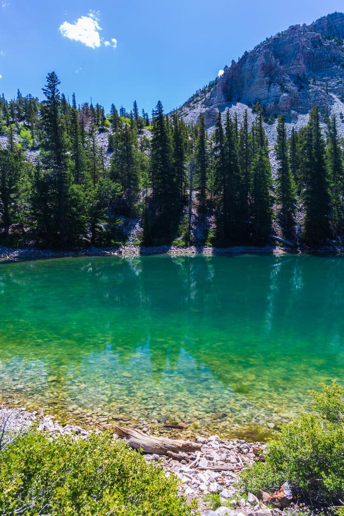 Mountain Lake by photograndma