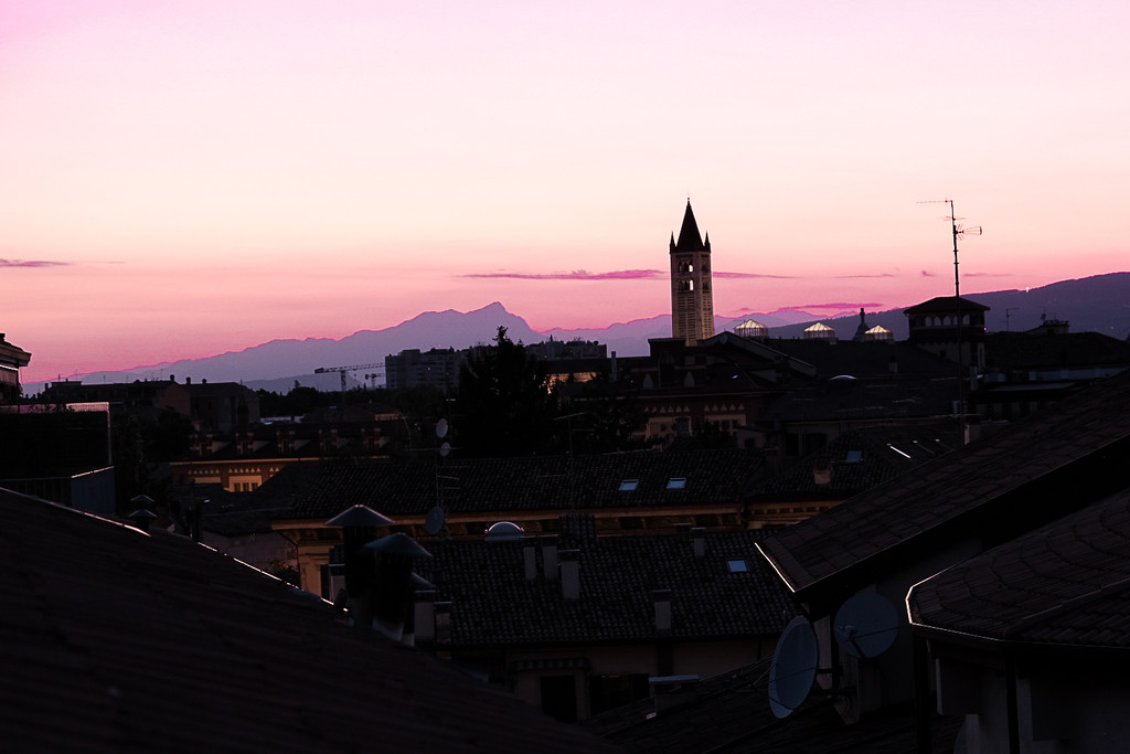 Sunset over San Zeno by caterina