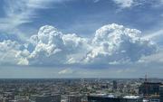 23rd Jun 2020 - Twin Clouds in the Blue Sky