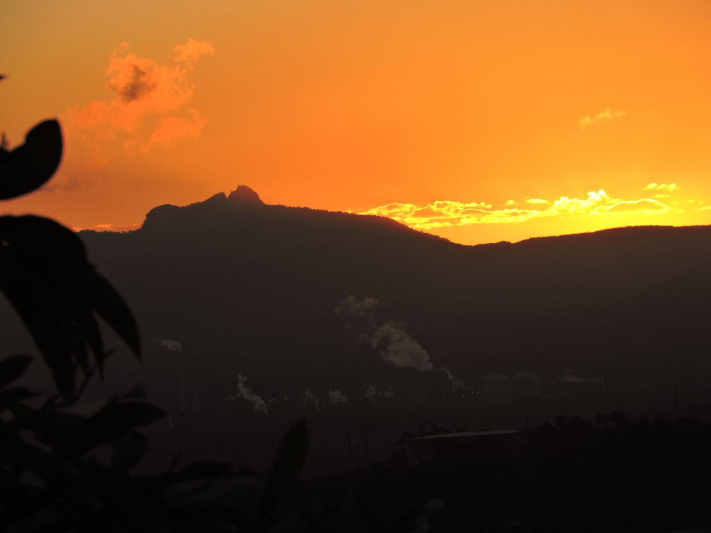 Sunset over Industry by ubobohobo