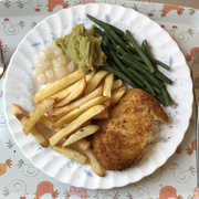 24th Jun 2020 - Gluten Free Fish and Chips