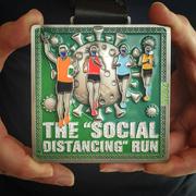 24th Jun 2020 - Social Distancing Run