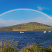 Rainbow over the Huon River by gosia