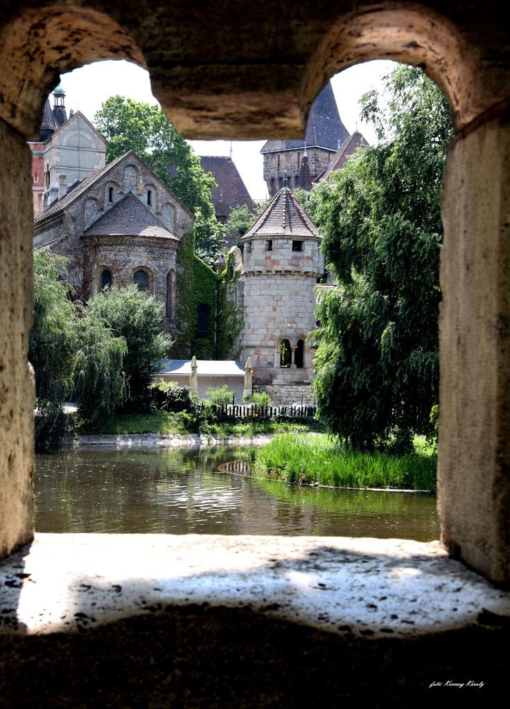 Lakeside castle by kork