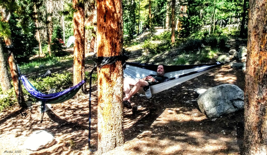 Relaxing! by harbie