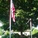 flag and flagpole