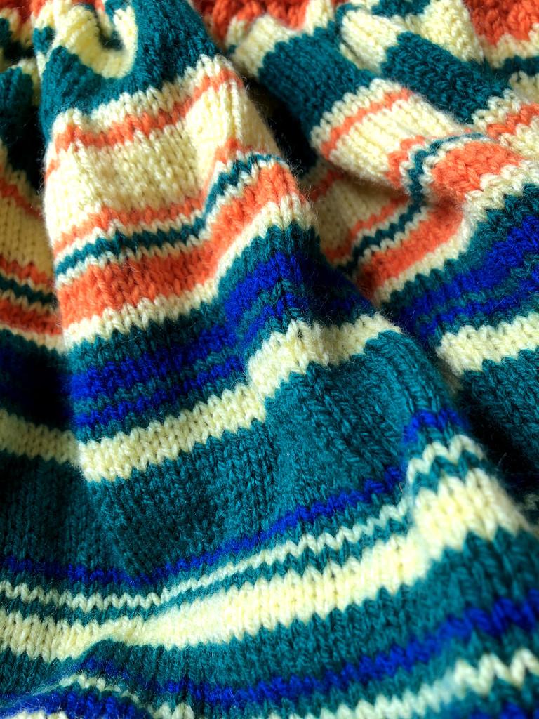 Temperature Blanket by arkensiel