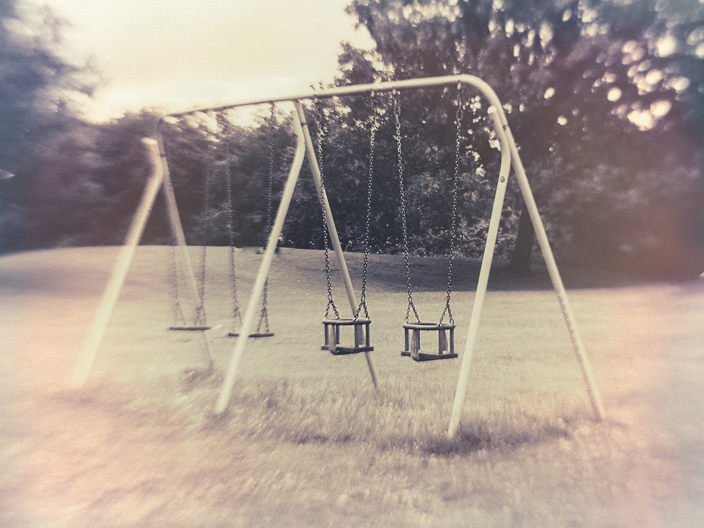 the swings are waiting for you by pistache