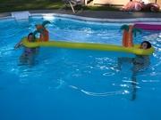 24th Jun 2020 - Social distancing in the pool