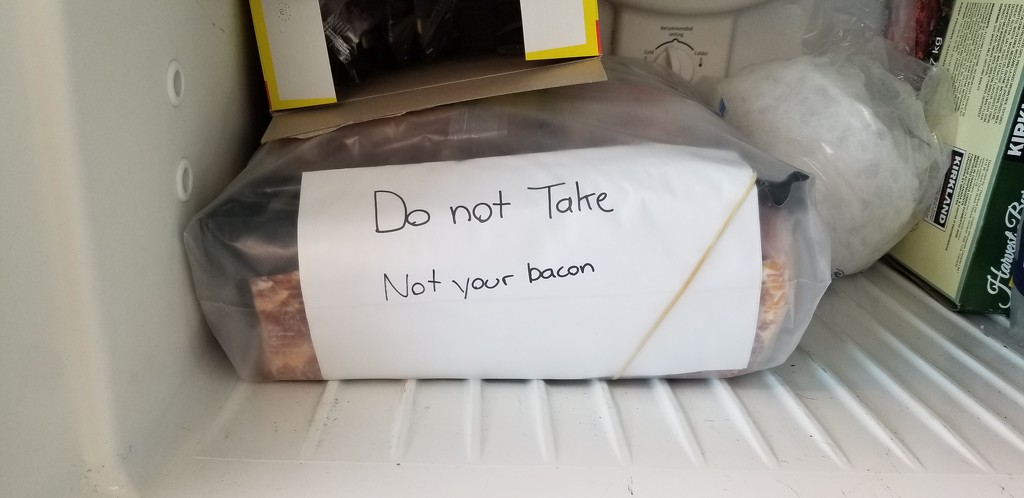 Not Your Bacon by schmidt