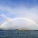 Rainbow over Quail Island