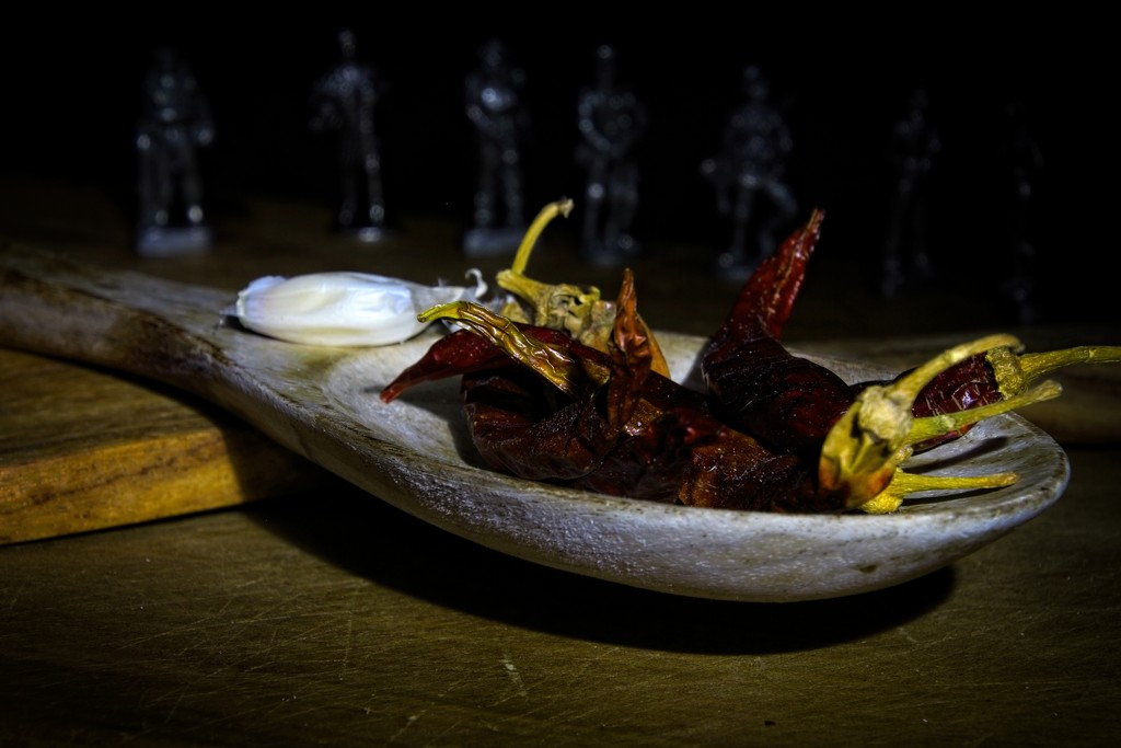 Captured chilli by kiwinanna