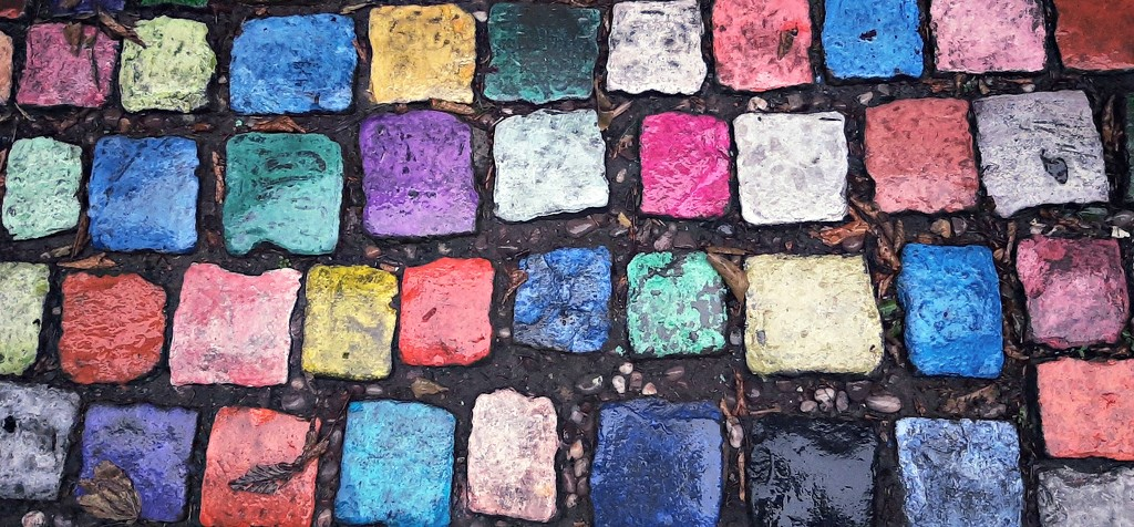 Colourful cobbles by inthecloud5