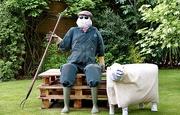 4th Jul 2020 - Farmer & Sheep