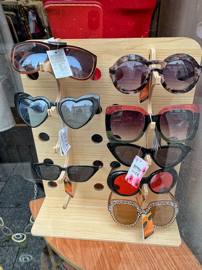 Heart shaped glasses.  by cocobella