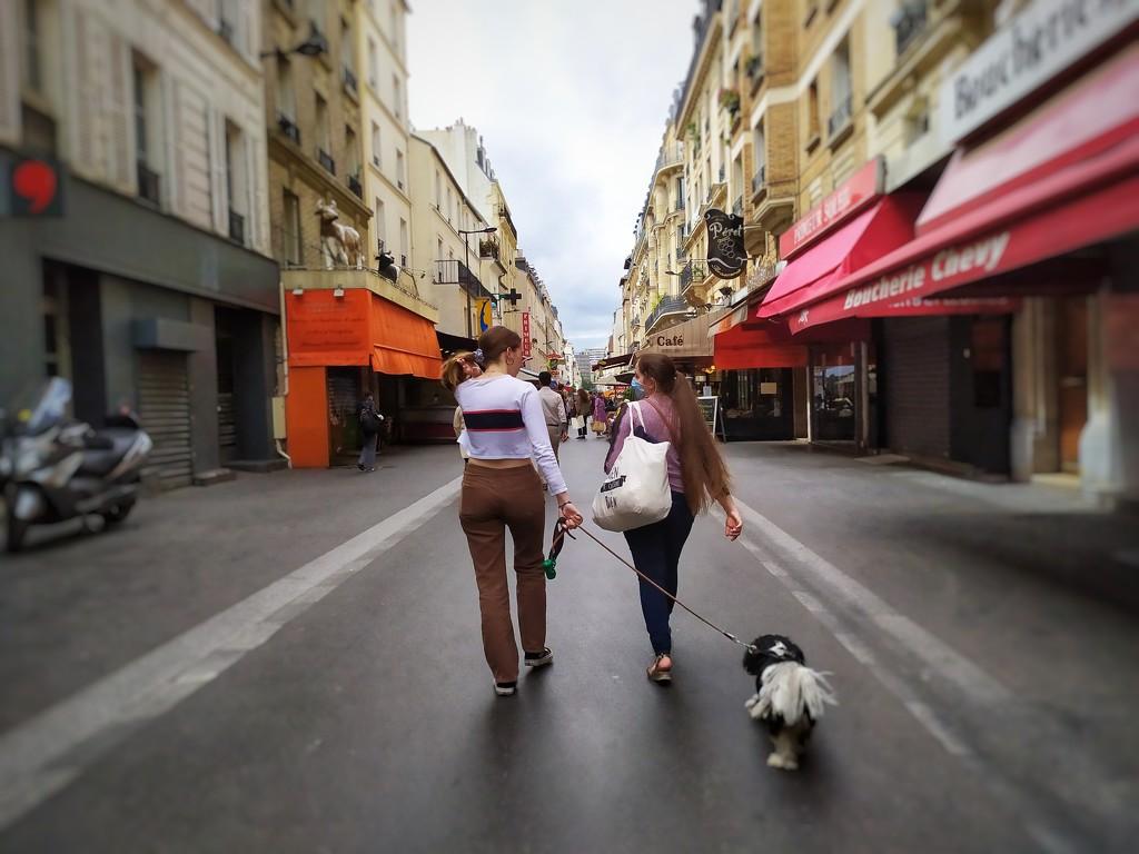 Rue Daguerre, 14th arrondissement by dustyloup
