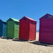 Beach huts by monicac