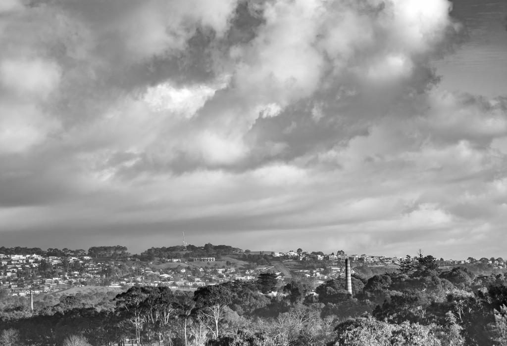 Sky over Highton by golftragic