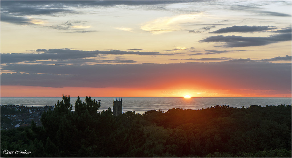 Sunset Cromer by pcoulson