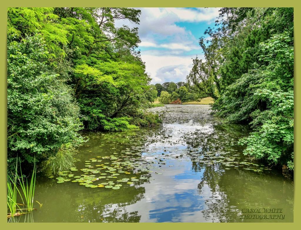 The Lake,Castle Ashby by carolmw