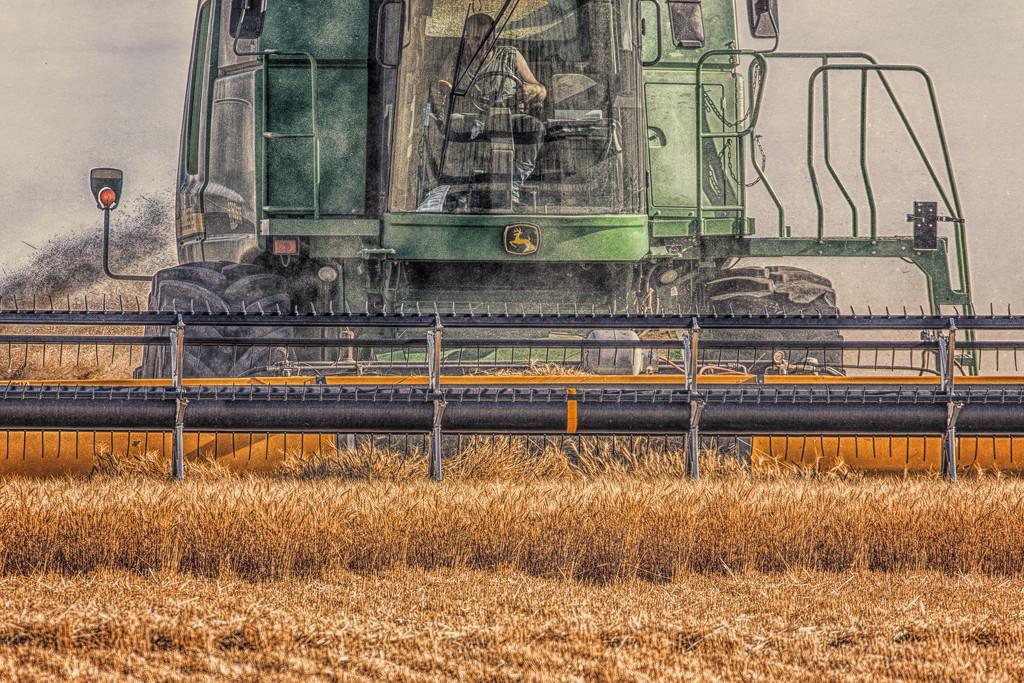 harvest combine by aecasey