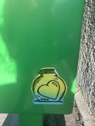 14th Jul 2020 - Green heart.