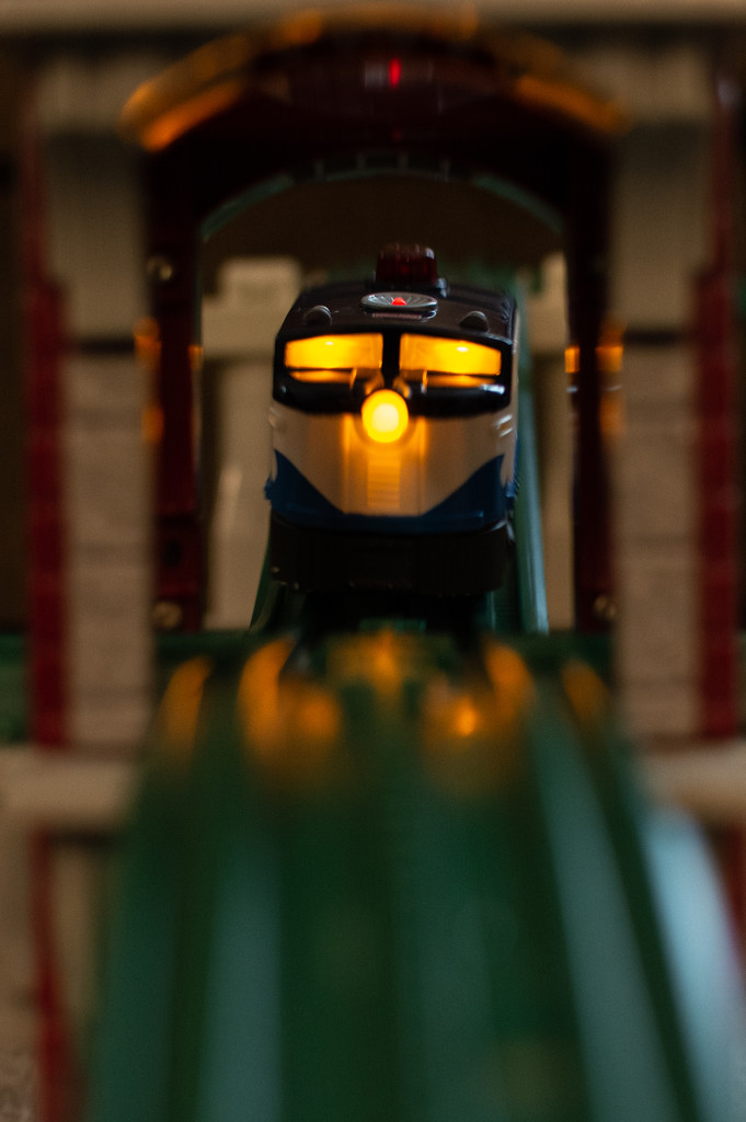 Fun with trains... by thewatersphotos