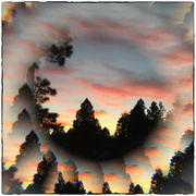 13th Jul 2020 - Sunset Lensbaby style