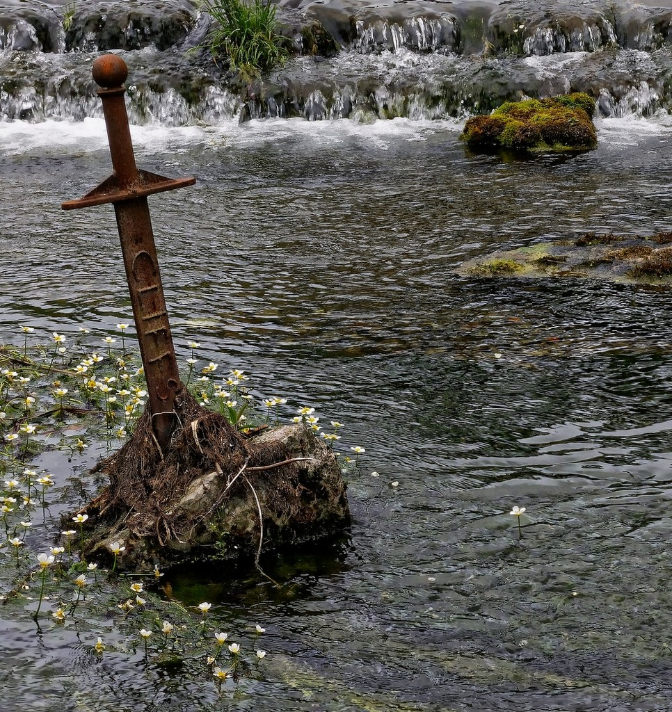 0713 - The river at Cheddar by bob65