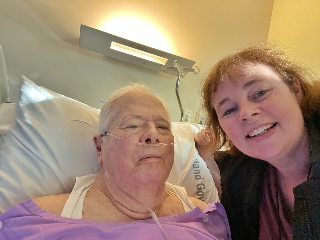 My last photo with my Dad by corymbia