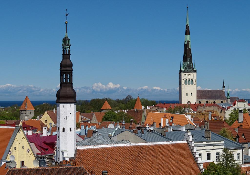 0714 - Tallinn Rooftops by bob65