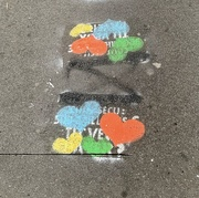 16th Jul 2020 - Hearts on the ground.