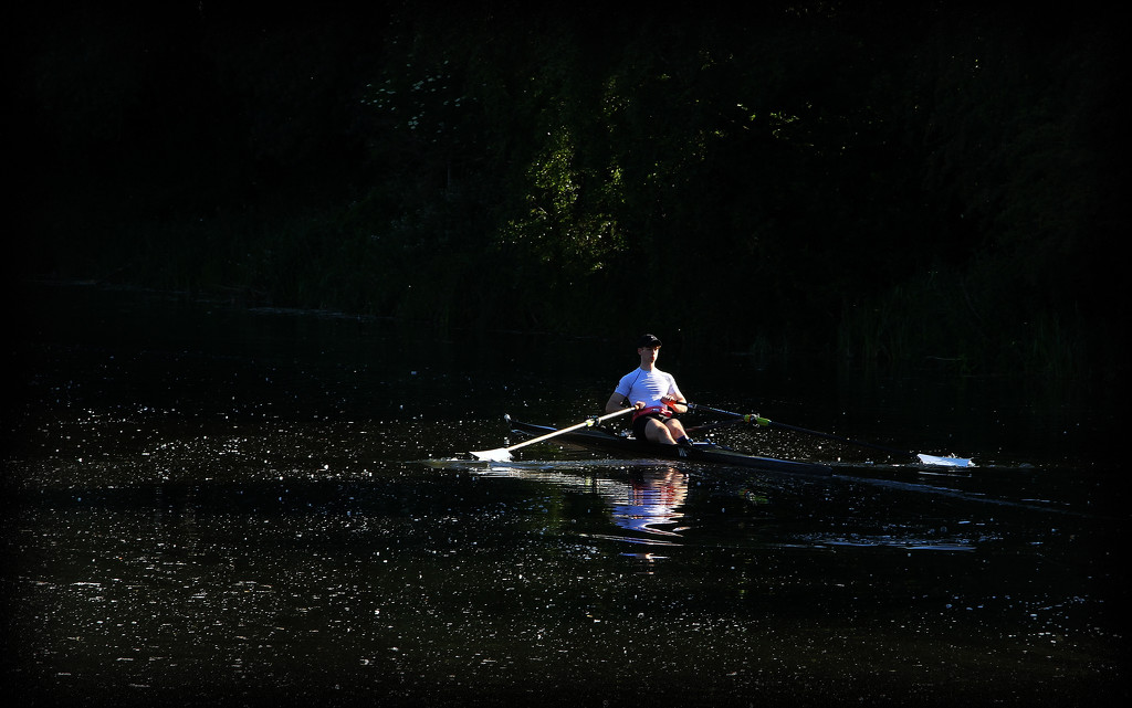 Rowing on the Canal by bybri