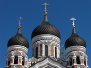15th Jul 2020 - 0715 - Domes of the Russian Orthodox Cathedral, Tallinn