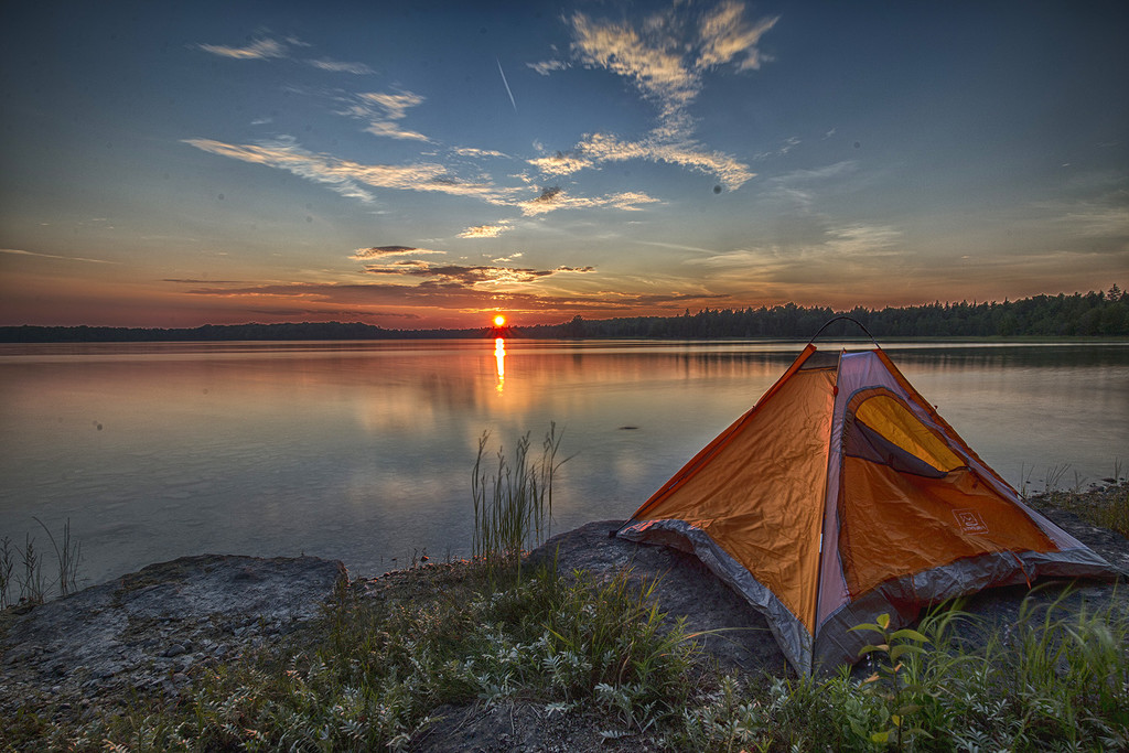 Manitoulin Island Camping by pdulis