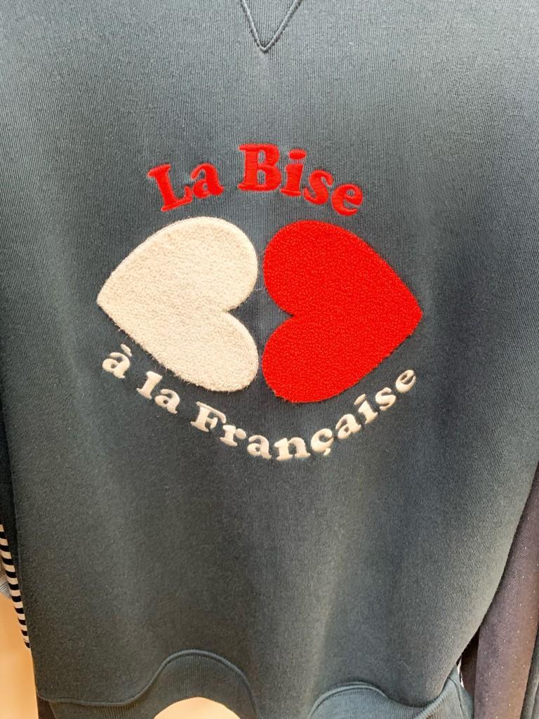 Bise à la française.  by cocobella