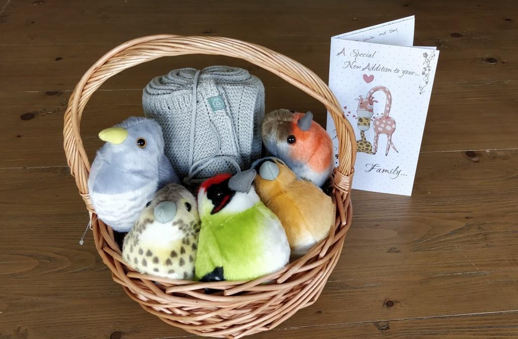 A Basket of Birds by roachling