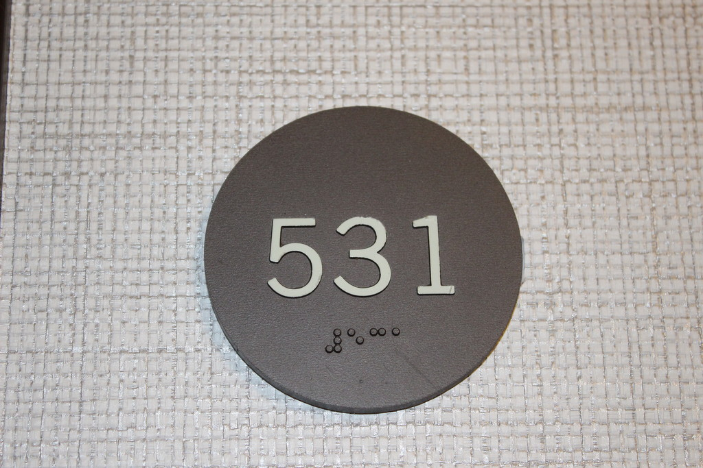 Hotel room number by jb030958