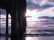 22nd Jul 2020 - Sunset at Scripps Pier