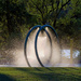 Splash Pad Glow by farmreporter