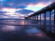 25th Jul 2020 - Azure and Purple Sunset