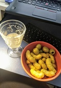 9th Jul 2020 - Catalan cocktail and nibbles