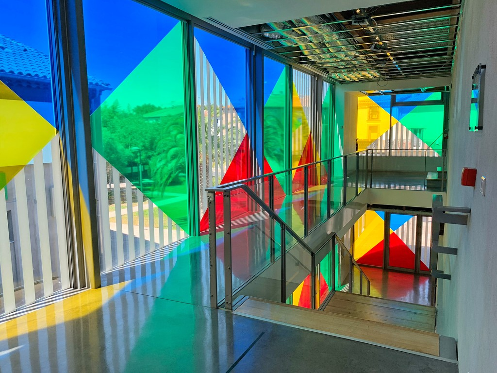 A colorful museum.  by cocobella