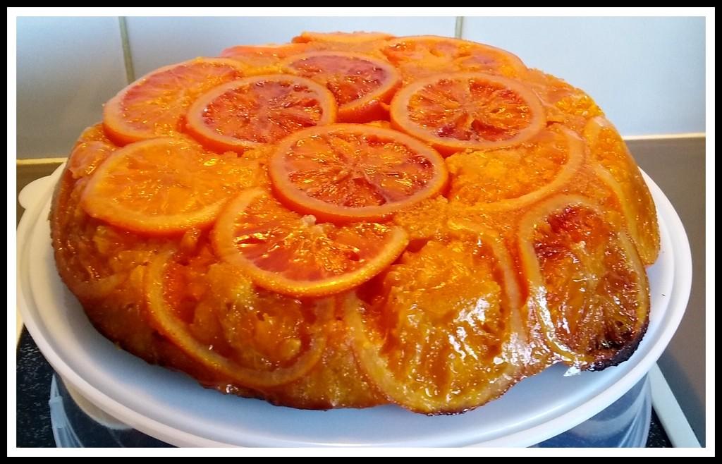 Upside down Blood Orange cake by 777margo