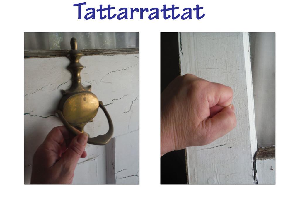 Tattarrattat by spanishliz