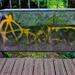 Footbridge Graffiti 1